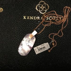 Kendra Scott Inez lilac and rose gold